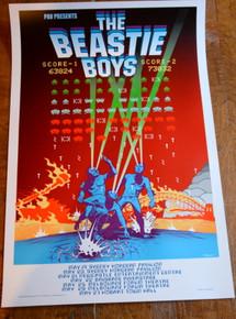 BEASTIE BOYS - AUSTRALIAN TOUR 1999 - DILLON NAYLOR - POSTER - ADAM YAUCH
