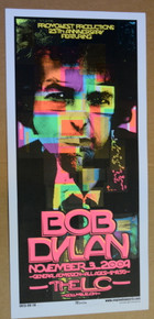 BOB DYLAN - 2009- THE LC - COLUMBUS - OHIO - ENGINEHOUSE 13 - POSTER - MIKE MARTIN