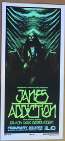 JANE'S ADDICTION - 2012- THE LC - COLUMBUS - OHIO - ENGINEHOUSE 13 - POSTER - MIKE MARTIN