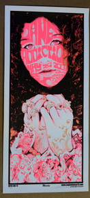JANE'S ADDICTION - 2009- THE LC - COLUMBUS - OHIO - ENGINEHOUSE 13 - POSTER - MIKE MARTIN