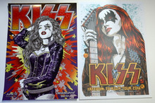 KISS POSTER BUNDLE- 2 POSTER SPECIAL - BERLIN 2013 - FREEDOM TOUR 2016