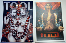 TOOL POSTER BUNDLE- 2 POSTER SPECIAL - BERLIN - GERMAN FAN CLUB - MELBOURNE