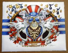 GRATEFUL DEAD - PYSCHO SAM - US BLUES - UNRYU PAPER - GICLEE ART PRINT - MASTHAY - 2020