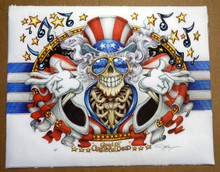 GRATEFUL DEAD - PYSCHO SAM - US BLUES - UNRYU PAPER - GICLEE ART PRINT - MASTHAY - 2020
