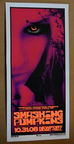 SMASHING PUMPKINS - 2008 - NEWPORT MUSIC HALL - COLUMBUS  - ENGINEHOUSE 13 - POSTER - MIKE MARTIN