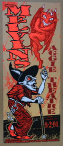 THE MELVINS -2004 -  AGGIE THEATRE - FT. COLLINS- LINDSEY KUHN - POSTER