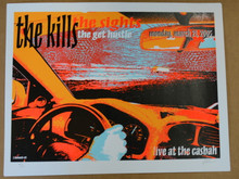 THE KILLS - THE SIGHT- 2005 - THE CASBAH - SAN DIEGO - LINDSEY KUHN - POSTER