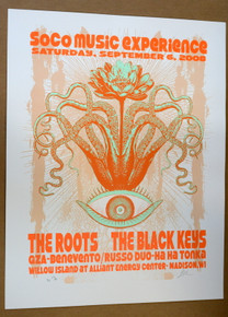 THE BLACK KEYS - THE ROOTS - 2008 - ALLIANT - MADISON - LINDSEY KUHN - POSTER - ARTIST PROOF