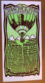 TOOL - MILE HIGH MUSIC FESTIVAL - 2009 - DENVER - LINDSEY KUHN - POSTER -BLACK KEYS