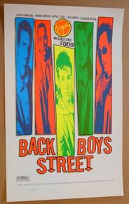 BACKSTREET BOYS - VIRGIN RECORDS PROMO - RARE - 2000 - RON DONOVAN - POSTER
