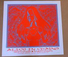 DEFTONES - 2010 - ALICE IN CHAINS - MASTODON - WHITE PAPER -  #44/60 - VANCOUVER - JERMAINE ROGERS