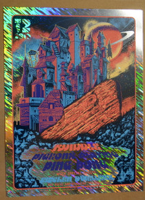 PIGEONS PLAYING PING PONG - TWIDDLE - 2019 - RED ROCKS - FOIL A/P - PAUL KREIZENBECK - POSTER