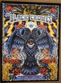 THE BLACK CROWES - 2021 - ESTABLISHED 1984 - A/P - PAUL KREIZENBECK - POSTER