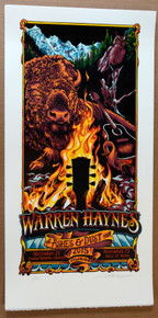 GOV'T MULE - WARREN HAYNES - 2015 - AJ MASTHAY - DENVER - ASPEN - POSTER