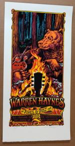 WARREN HAYNES - GOV'T MULE - 2015 - AJ MASTHAY -PORTLAND - SEATTLE - SAN FRANCISCO - POSTER