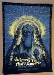 GODSPEED YOU BLACK EMPEROR - 2012 - MADRID - BARCELONA - ERROR-DESIGN - TOUR POSTER