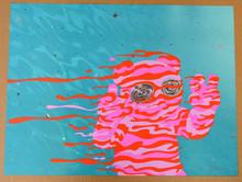"""DERO"" - ART PRINT - FOIL -JERMAINE ROGERS  -POSTER - ARTIST PROOF"