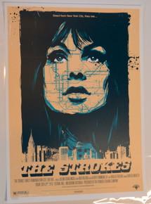 THE STROKES - 2010 - KEN TAYLOR - FESTIVAL HALL - MELBOURNE- POSTER
