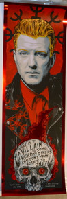 JOSH HOMME - QUEENS OF THE STONE AGE - RHYS COOPER - POSTER - RED MIRROR FOIL