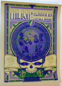 PHIL LESH AND TERRAPIN BAND - 2019 - ARTIST PROOF - JOY THEATER - NEW ORLEANS - POSTER