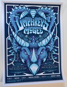 UMPHREY'S MCGEE- 2017 - NEW YEARS EVE - FILLMORE - DENVER  - POSTER