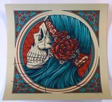 """""""MYSTIC GYPSY"""" - GRATEFUL DEAD - BERTHA - DEAD AND COM. - ART PRINT  - POSTER"""