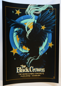THE BLACK CROWES - ATLANTA - 1990 - 30TH ANNIVERSARY - A/P - VANCE KELLY - POSTER - SHAKE YOUR MONEY MAKER