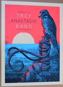 TREY ANASTASIO - PHISH - 2015 - #1/200 - FOX THEATRE - OAKLAND - JOHN VOGL - POSTER