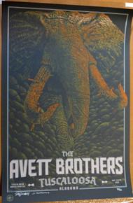 AVETT BROTHERS - 2016- TUSCALOOSA AMPHITHEATER - DIG MY CHILI - POSTER -