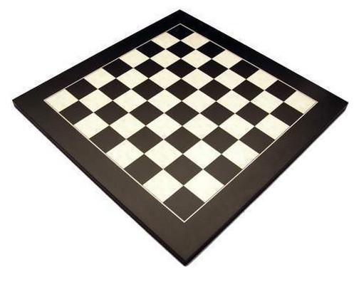 Dal Rossi 50cm Black / Erable Chess Board (L7904DR)