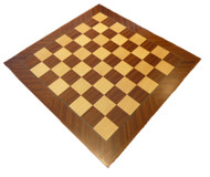 Dal Rossi 40cm Mahogany / Maple Chess Board (L7812DR)