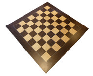 Dal Rossi 50cm Palisander/Maple Chess Board