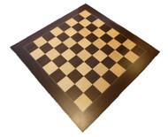 Dal Rossi 50cm Palisander/Maple Chess Board