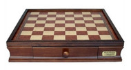 Dal Rossi 50cm Wooden Chess Board with Storage Drawers (Board Only) (L2299DR)