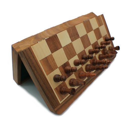 """Rex Noir 36cm / 14"""" Flip Magnetic Travel Chess Set (FLI-S-36)"""