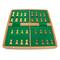 "Rex Noir 36cm / 14"" Flip Magnetic Travel Chess Set (FLI-S-36) storage"