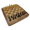 Rex Noir 25cm Flip Magnetic Travel Chess Set (FLI-S-25) board from above
