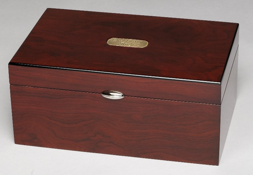 Dal Rossi Mahogany Storage Box for Chess Pieces (L2246DR)