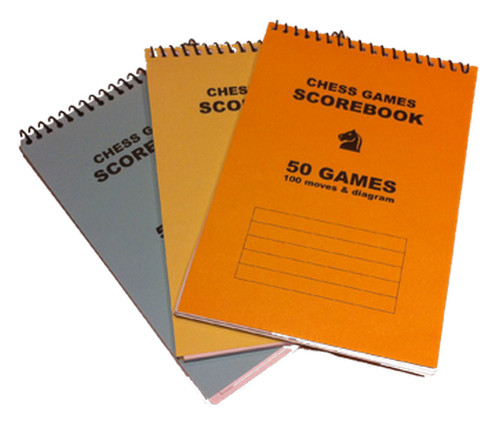 A5 Chess Score Book (AS101)