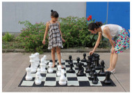 Giant Chess 40cm Giant Chess Outdoor / Indoor Set (GC401) full set