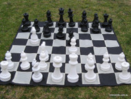 30cm Garden Chess Set