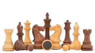 Rex Noir Turin 100mm Sheesham / Boxwood Pieces (Double Weighted) (TUR-S-10)