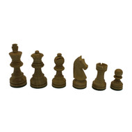 Rex Noir Elite 68mm Sheesham / Boxwood Chess Pieces Only (ELI-S-68)