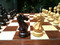 Rex Noir Expert 85mm Rosewood / Boxwood Chess Pieces Only (EXP-R-85)