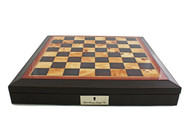 Dal Rossi Brown PU Leather 45cm Board with Storage (Board Only) (L2233DR) board