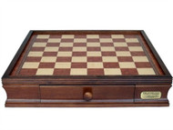 Dal Rossi 40cm Wooden Chess Board with Storage Drawers (Board Only)