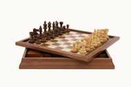 Large 3 in 1 Dal Rossi Chess, Checkers & Backgammon (46cm) (L2202DR & L3020DR)