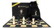 Chessplus Quality Plastic Playing Set (Board and Pieces) (CP1102)
