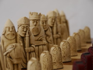 Berkeley Chess Isle of Lewis Chessmen (Red)