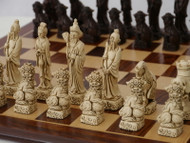 Berkeley Chess Brown Mandarin Chessmen